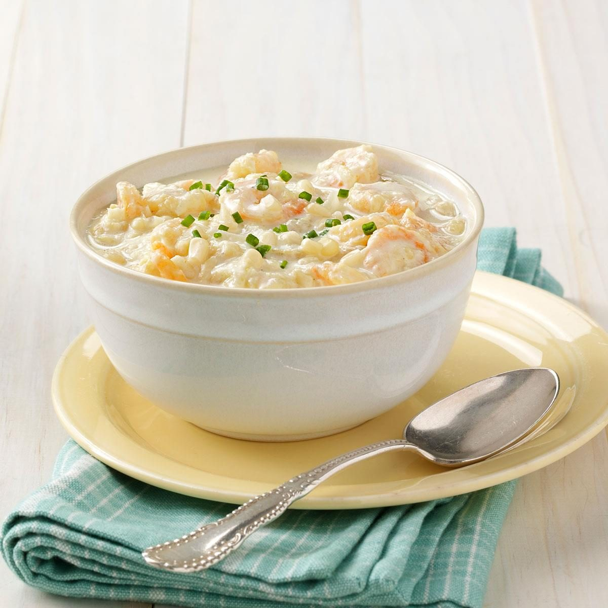Chilled Corn And Shrimp Soup Recipe
