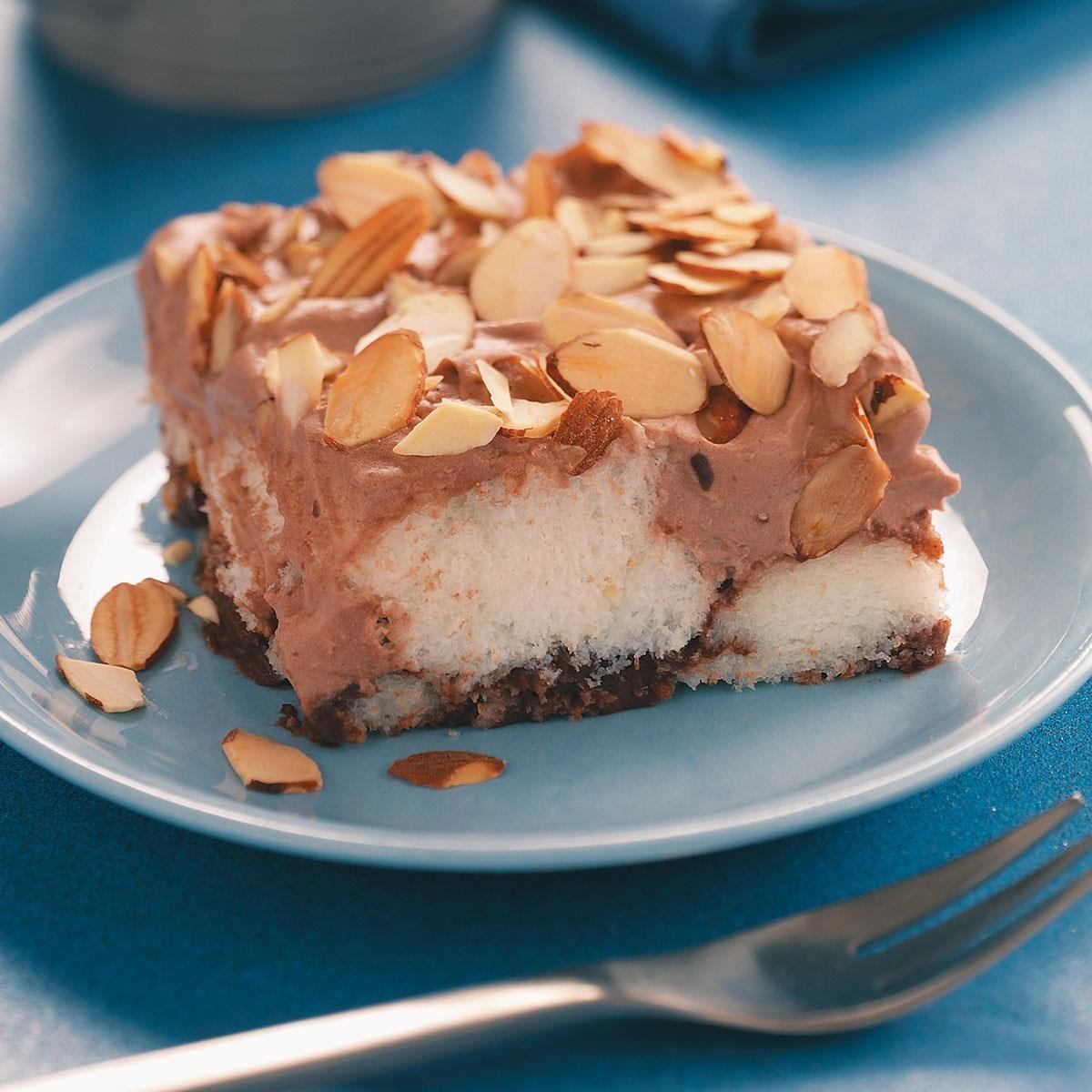 Chocolate Almond Dessert Recipe | Taste of Home