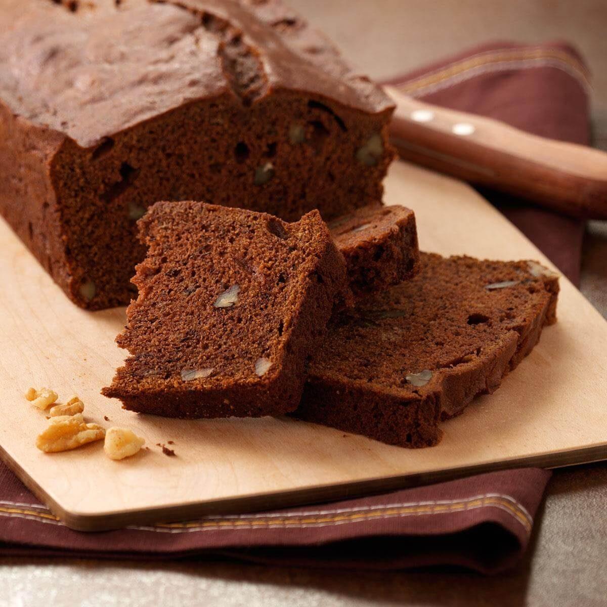 Chocolate Banana Bread Recipe Taste Of Home
