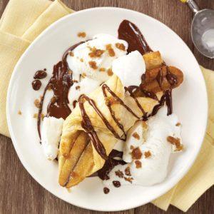 Chocolate Banana Bundles
