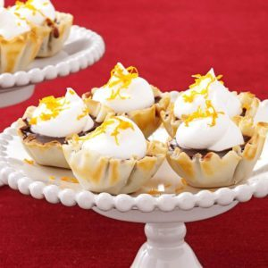 Chocolate Butterscotch Tartlets