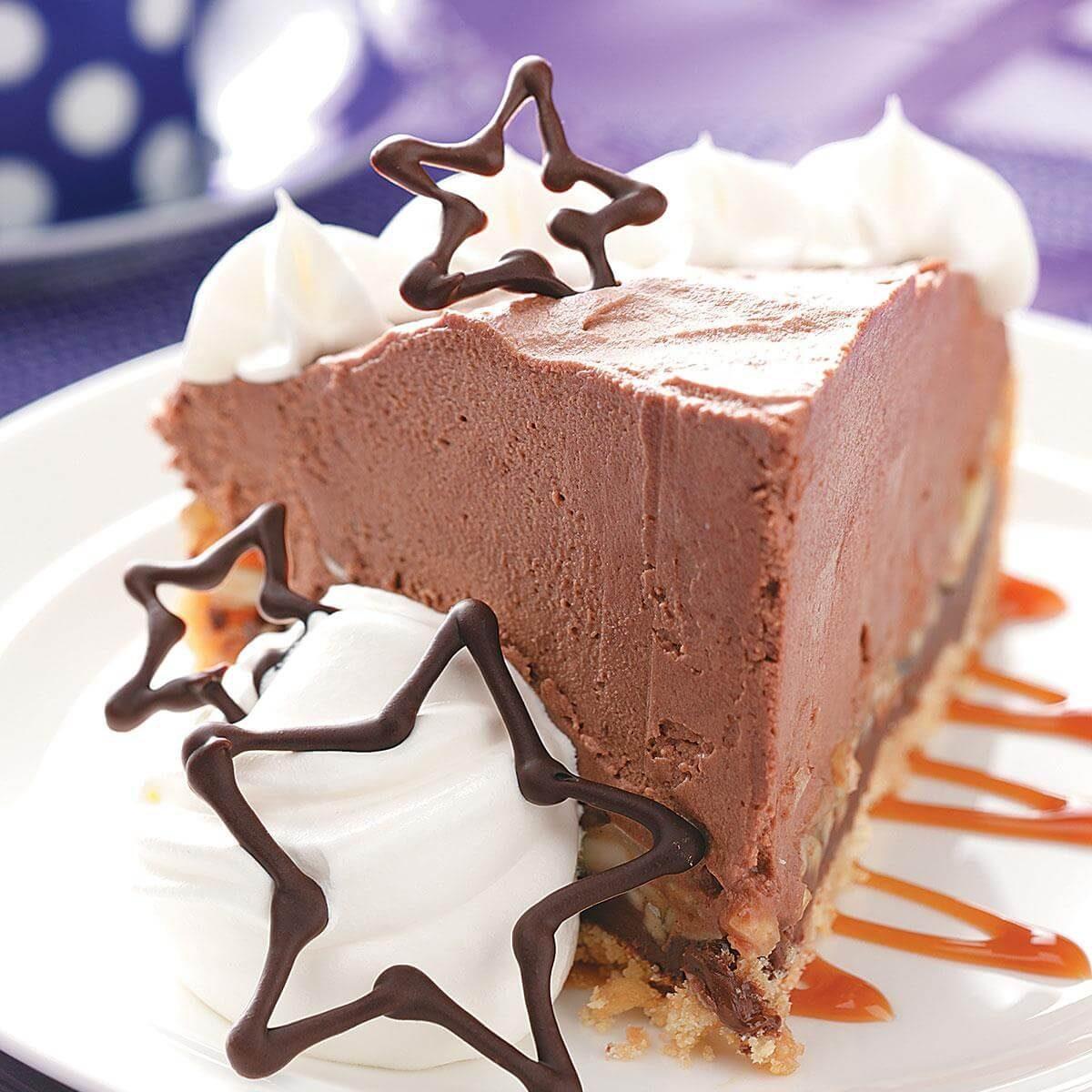 Chocolate-Caramel Dream Pie Recipe