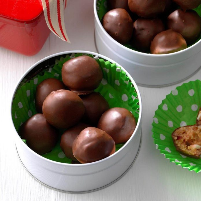 Chocolate Cherry Candies