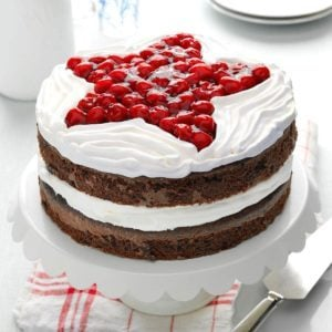 Chocolate Cherry Layer Cake