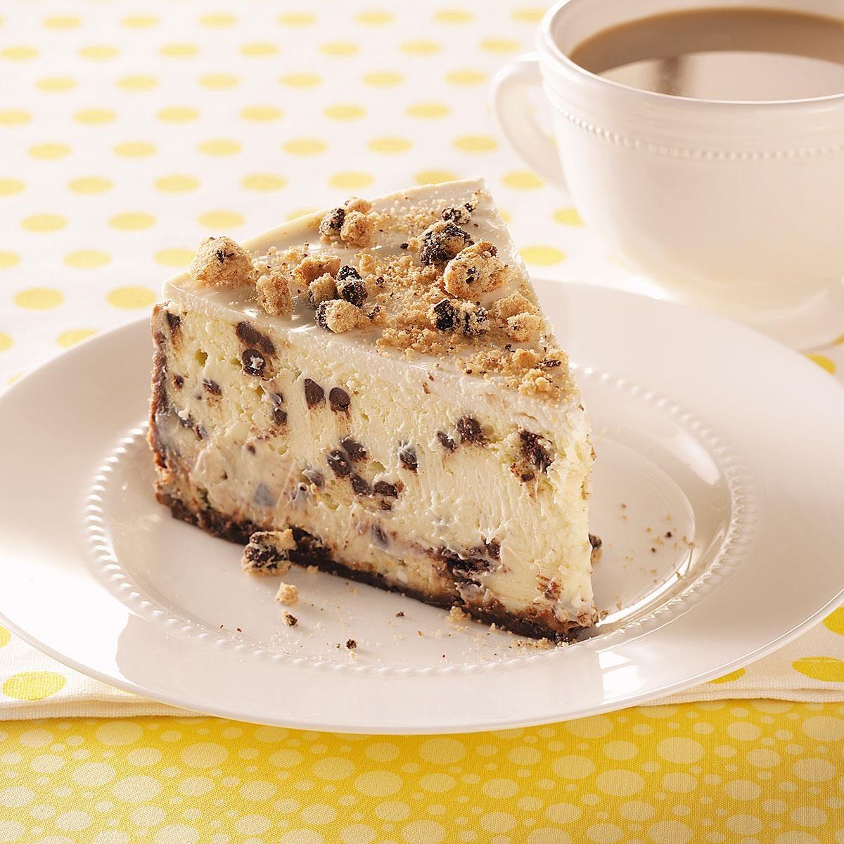 Chocolate Chip Cheesecake Taste Of Home