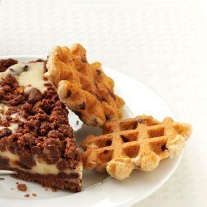 Chocolate Chip Waffle Cookies