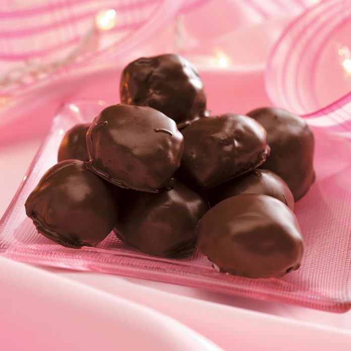 Chocolate Coconut Candies Recipe | Taste of Home