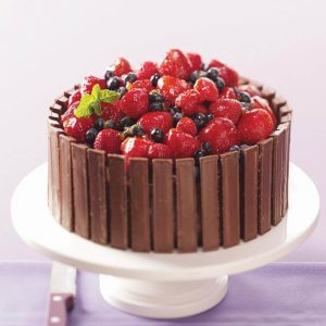 Chocolate Fruit Basket Cake Amazing Design