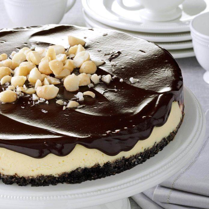Chocolate Macadamia Cheesecake