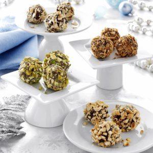 Chocolate Mascarpone Truffles