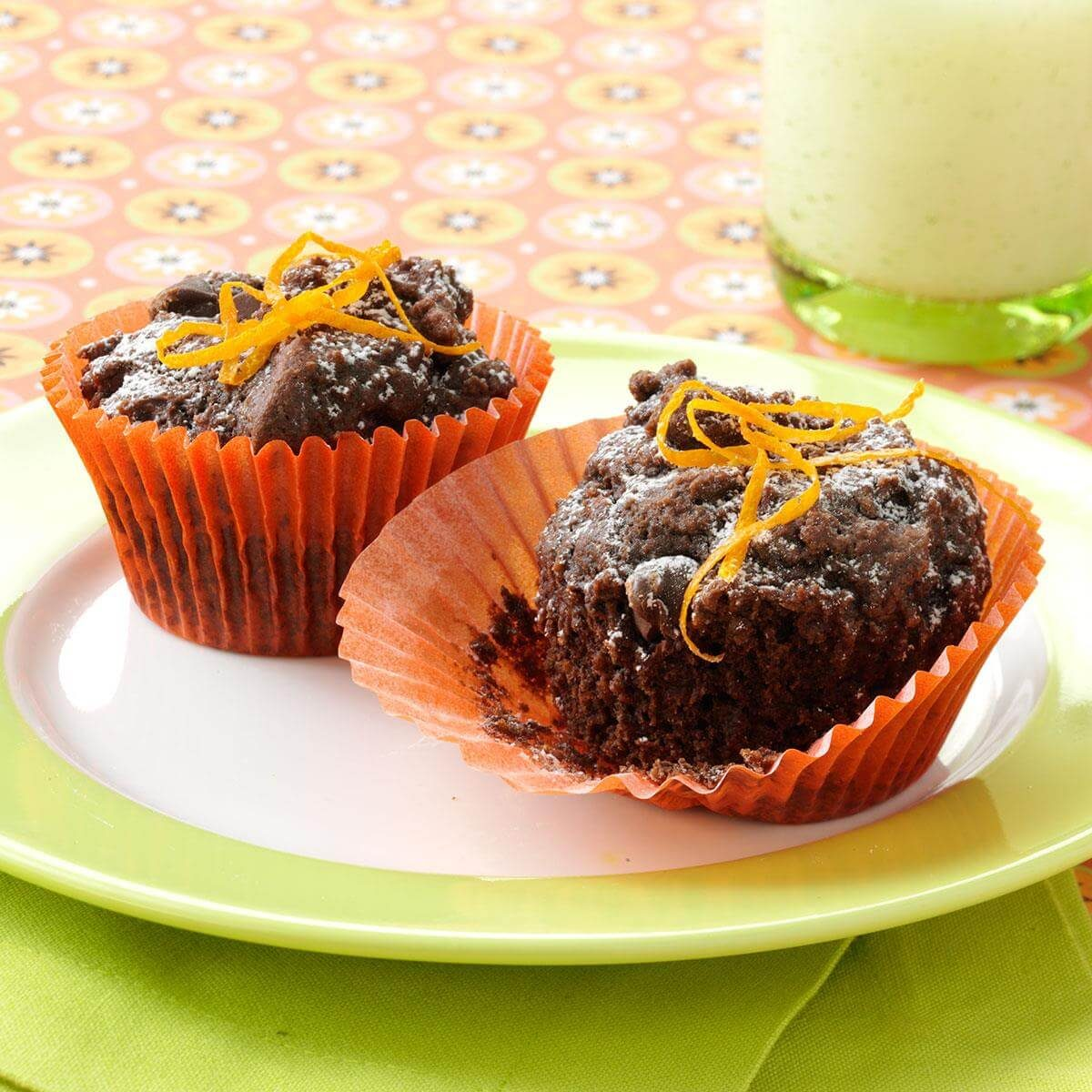 Chocolate Orange Cupcakes Recipe | Taste of Home