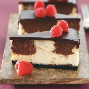 Chocolate Raspberry Cheesecake