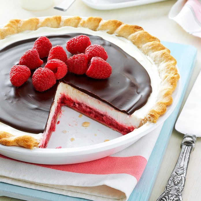Chocolate Raspberry Pie