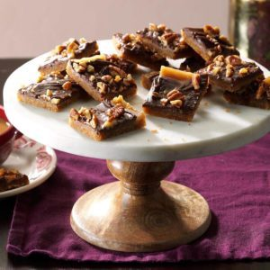 Chocolate Toffee Crunchies