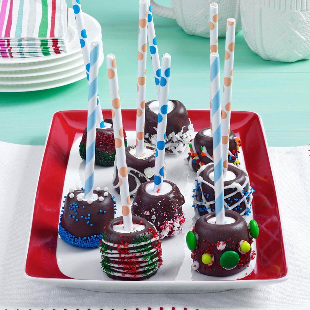 Chocolate Marshmallows Dunmore Candy Kitchen: Chocolate-Topped Marshmallow Sticks Recipe