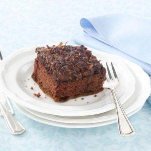 Chocolate Upside-Down Cake