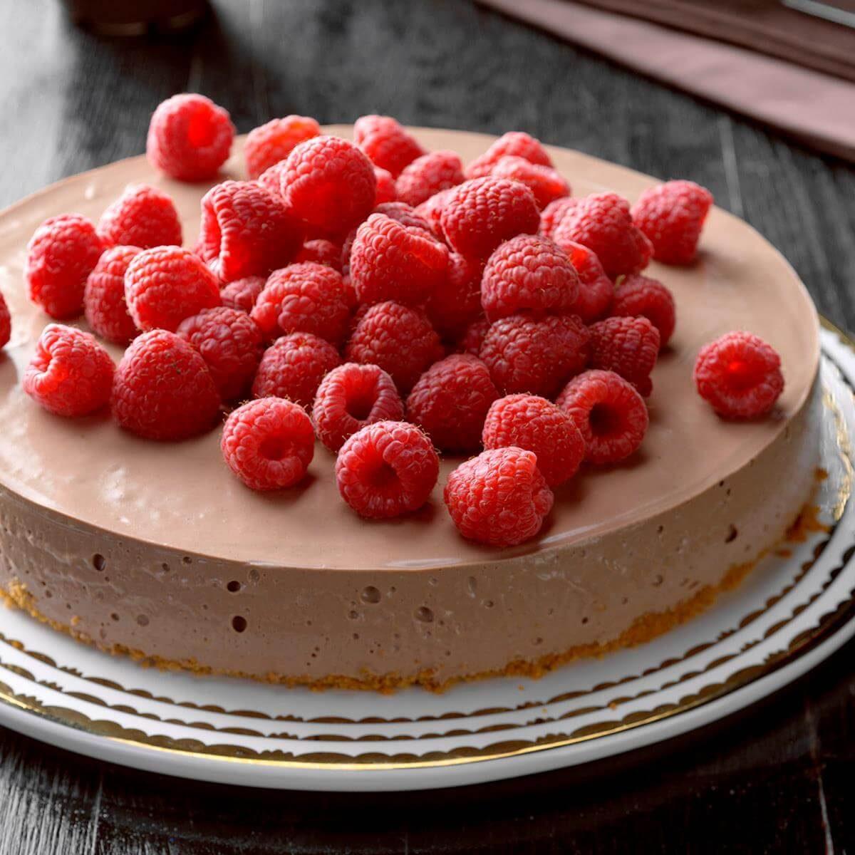 Chocolate And Raspberry Cheesecake Recipe