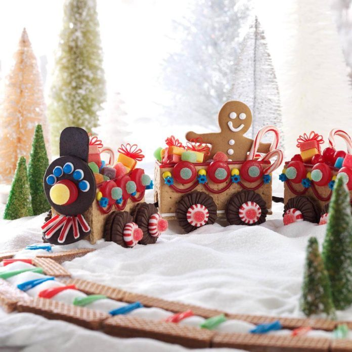 Christmas Candy Train Recipe Taste Of Home