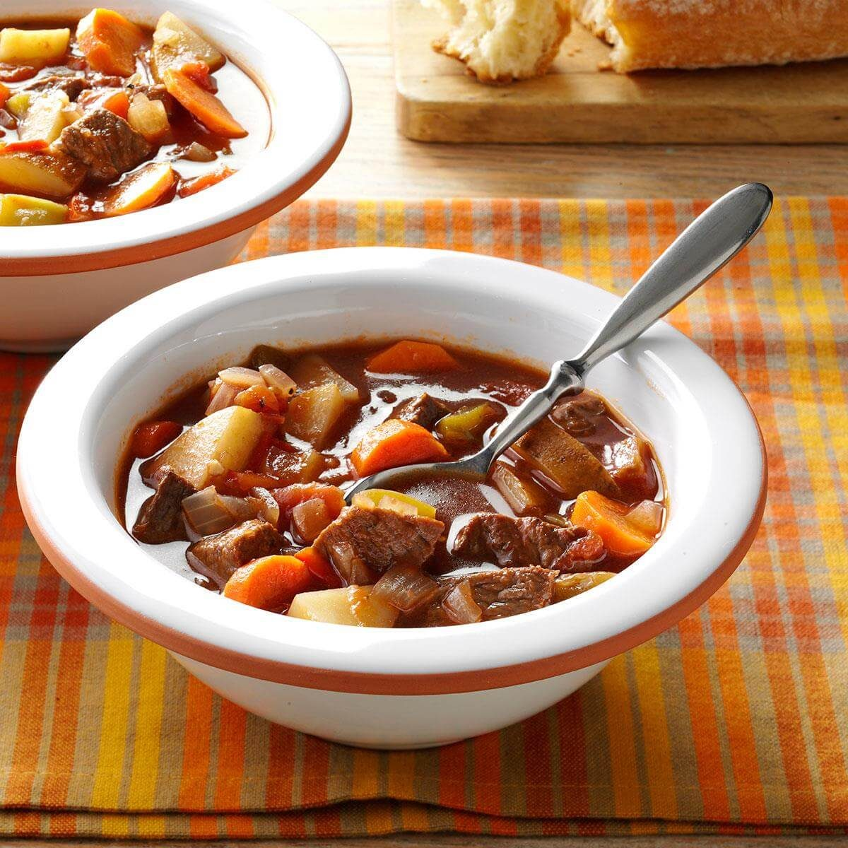 Chunky Beef And Vegetable Soup Recipe