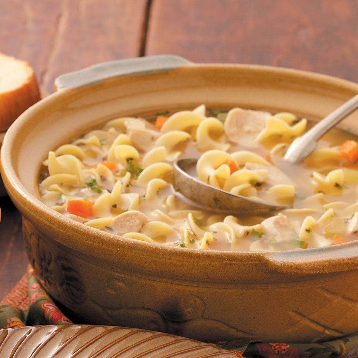 Chunky Chicken Noodle Soup Recipe Taste Of Home