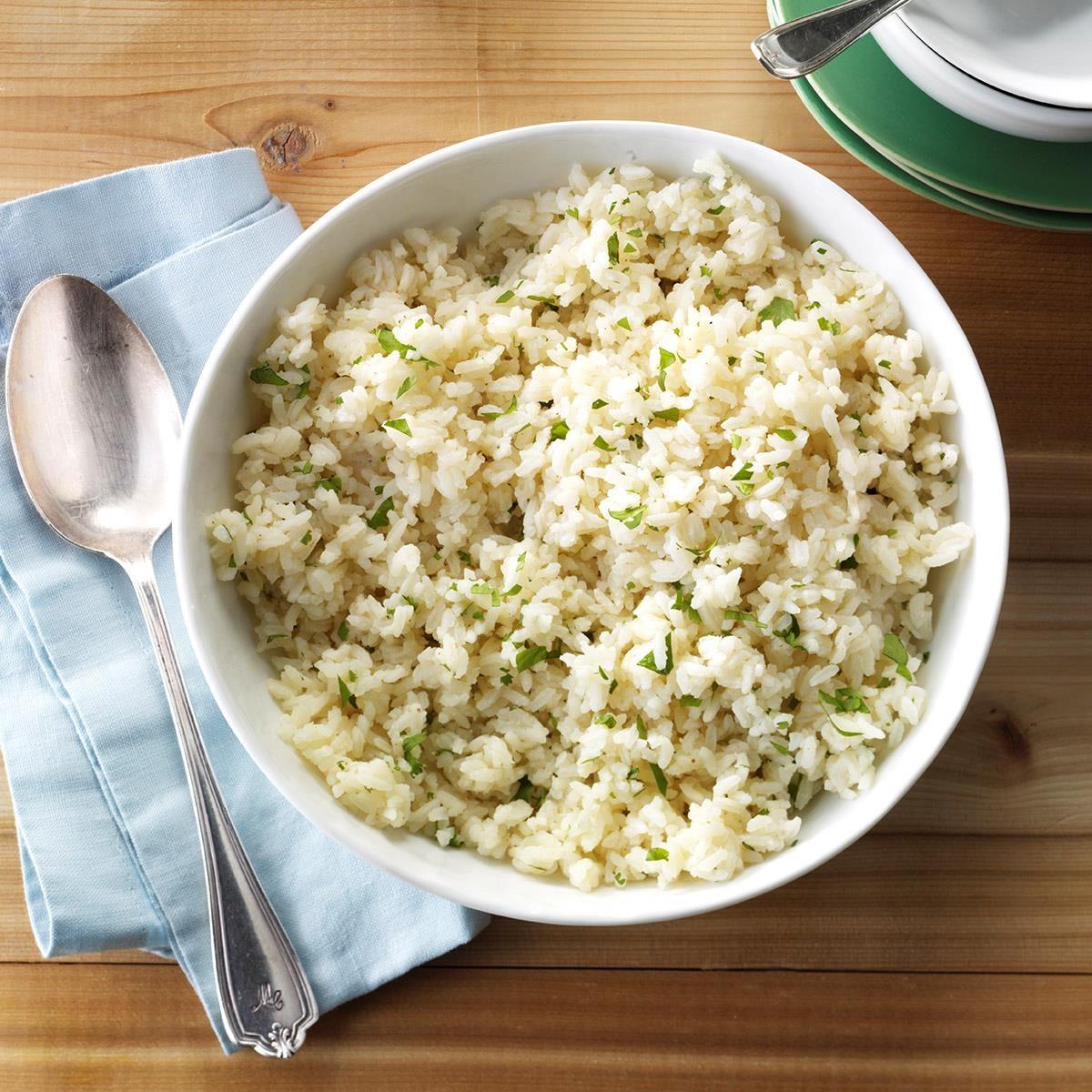 Cilantro-Lime Rice Recipe