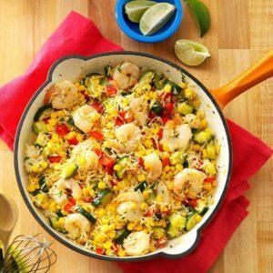Cilantro Shrimp & Rice