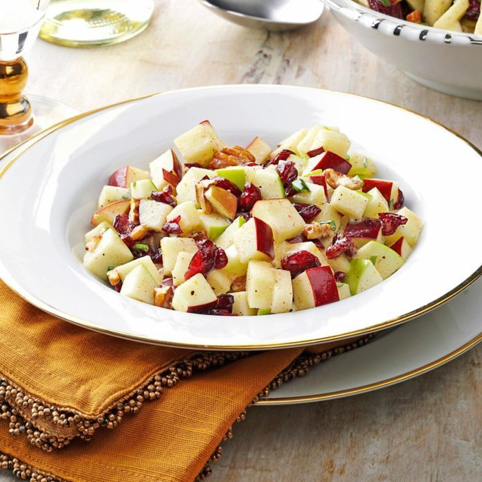 Connecticut: Cinnamon Apple-Nut Salad