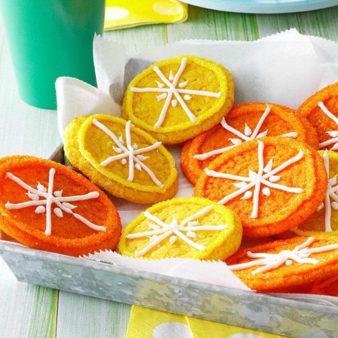 <i>Summer Rental</i>: Citrus Cookies