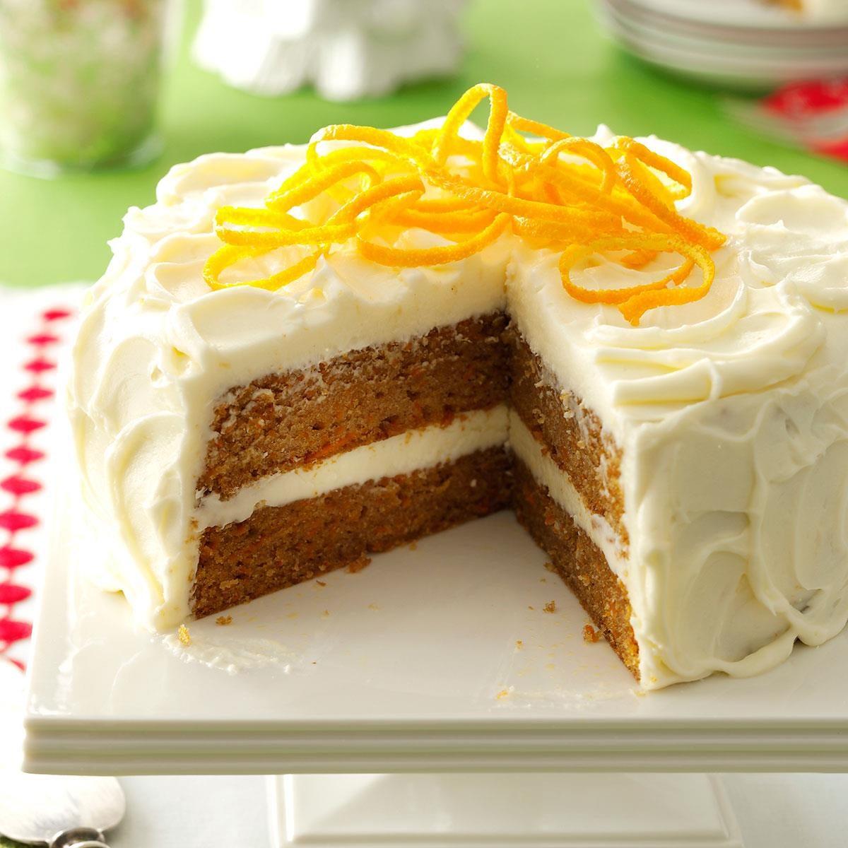 Citrus-Kissed Sweet Potato Cake Recipe