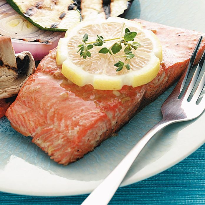 Citrus-Marinated Salmon