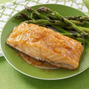 Citrus-Spice Glazed Salmon