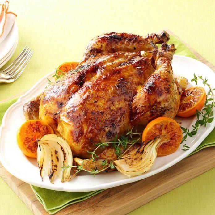 Citrus-Spiced Roast Chicken