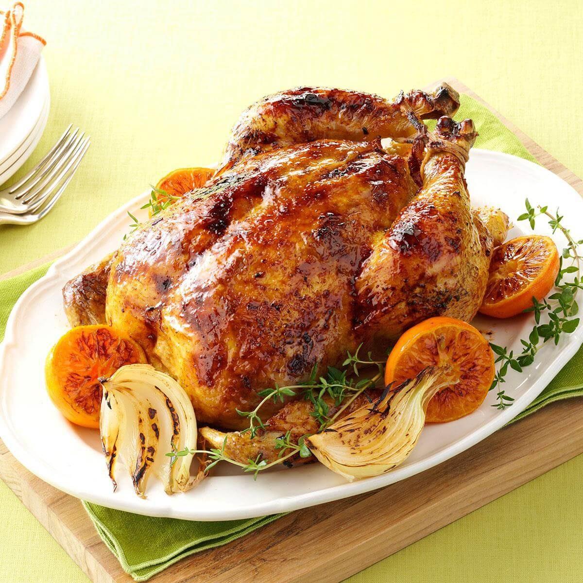Citrus-Spiced Roast Chicken Recipe