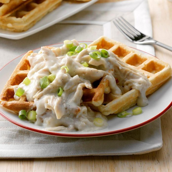 Gemini: Classic Chicken & Waffles