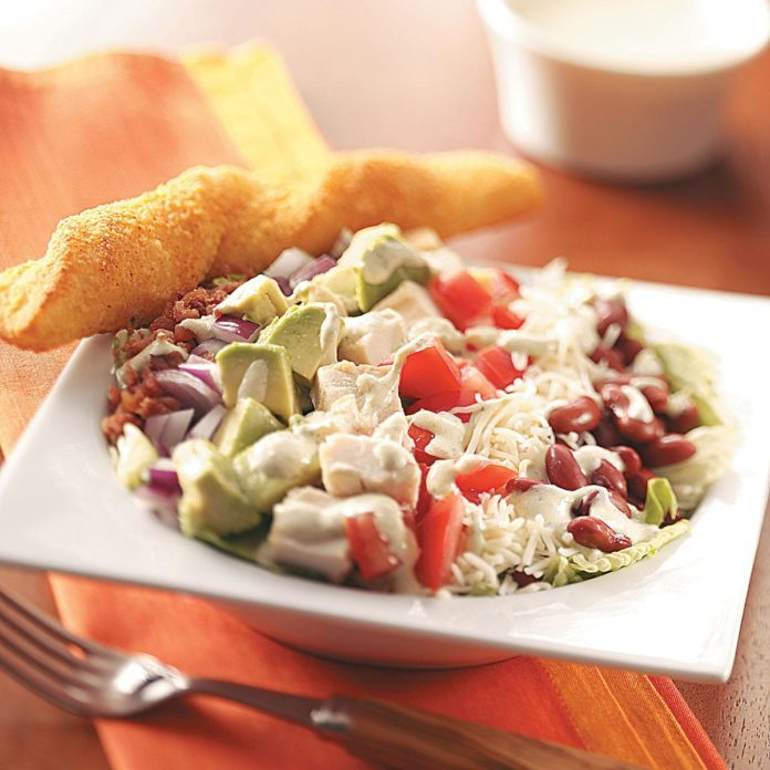 Cobb Salad with Chili-Lime Dressing