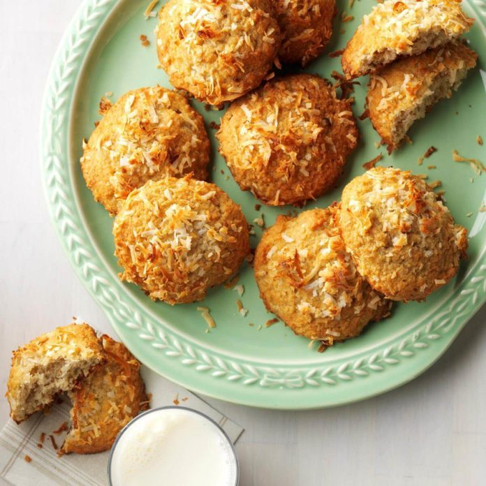 Coconut Banana Cookies