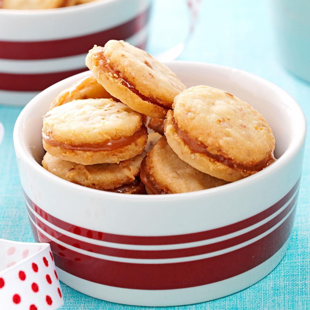 Coconut-Pecan Shortbread Cookies Recipe