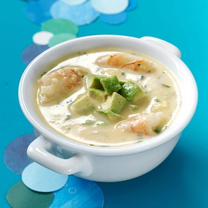 Coconut Shrimp Chowder