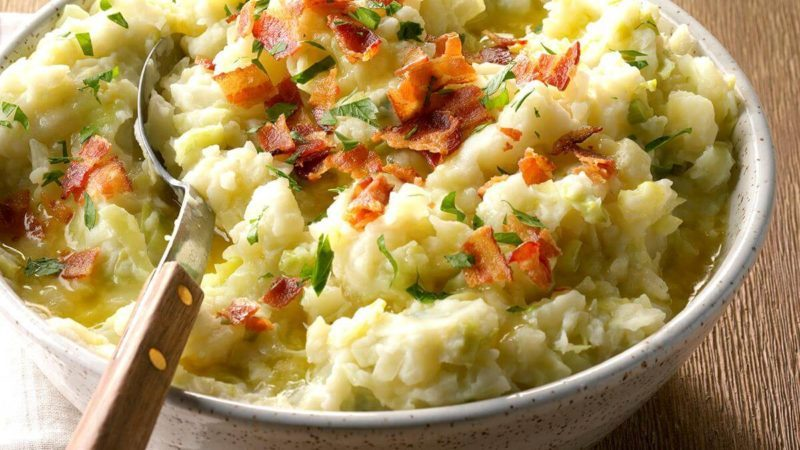 Colcannon Potatoes Is the Traditional Irish Recipe You Never Knew You Needed