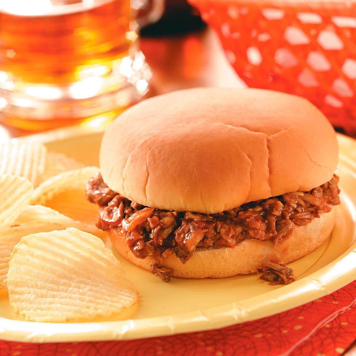 Contest Winning Barbecued Beef Sandwiches Recipe