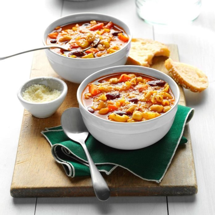 Contest-Winning Easy Minestrone