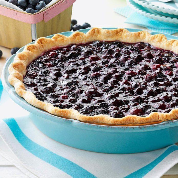 Blueberry pie recipe 1
