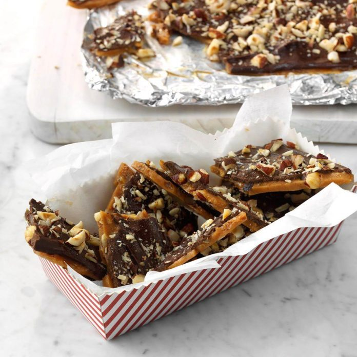 Contest-Winning Hazelnut Toffee