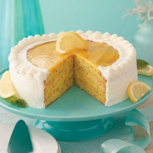 Contest-Winning Lemon Poppy Seed Cake