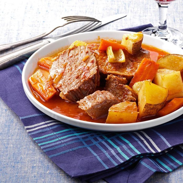 Contest-Winning Old-Fashioned Pot Roast