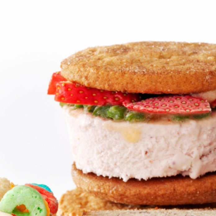 Cool & Creamy Ice Cream Sandwiches