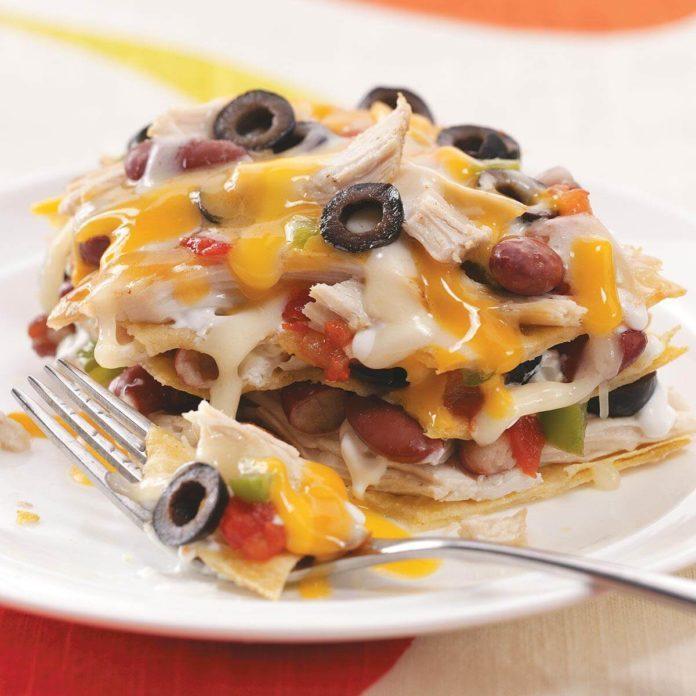 Corn Tortilla Chicken Lasagna
