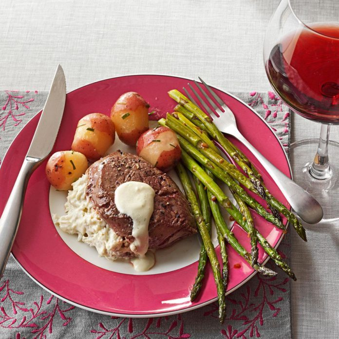 Crab & Herb Cheese Filet Mignon