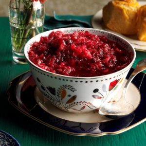 Cranberry Fruit Relish