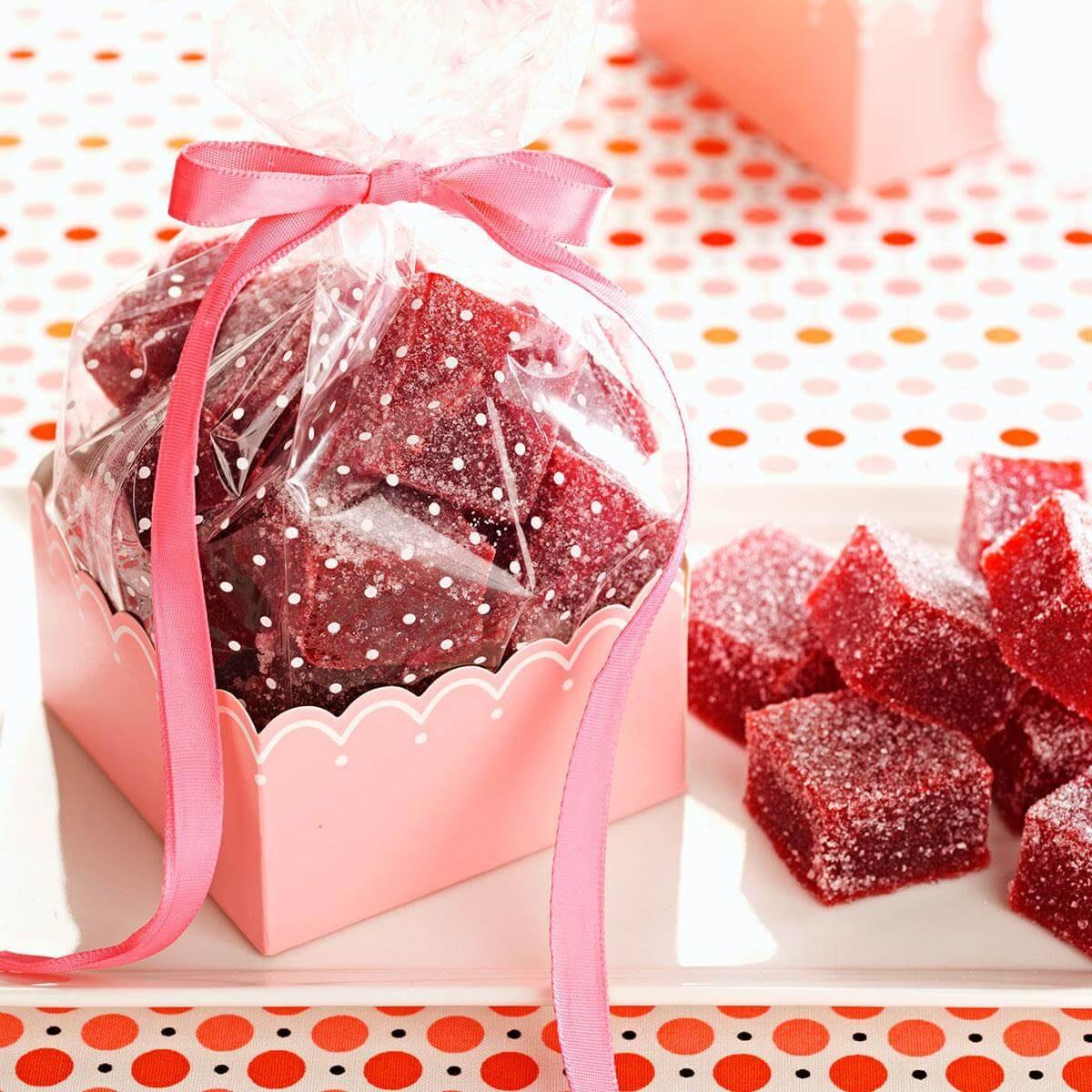 Cranberry Gumdrops Recipe | Taste of Home